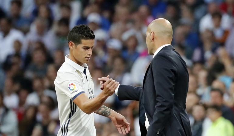 James Real Madrid: ¿James se despidió de la afición en el Bernabéu?