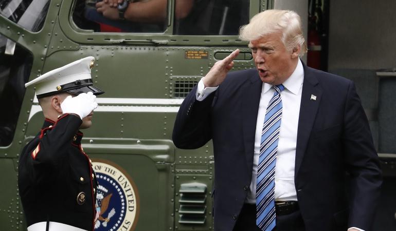 Trump y Santos debatirán relaciones y acuerdos colombianos de paz