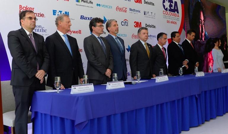 Encuentro Santos - Trump: Empresarios colombianos esperan mantener la dinámica comercial con Gobierno de Trump