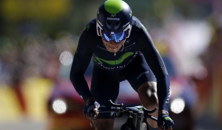Fernando Gaviria sufre caída en la contrarreloj del Giro
