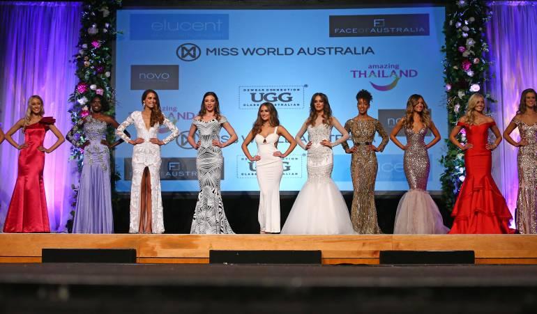 Miss World Australia 2016. Imagen de referencia.