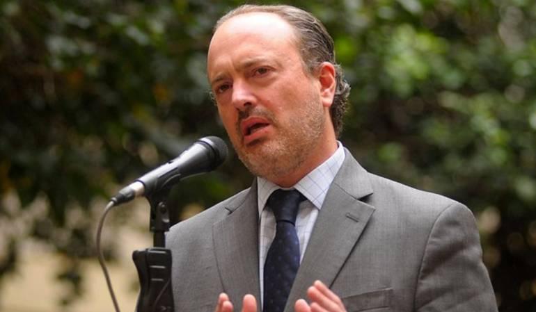 Luis Guillermo Vélez, director de la Agencia Jurídica del Estado.