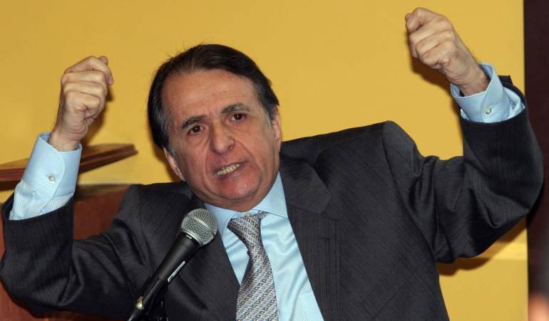 Alberto Santofimio en libertad: Libertad domiciliaria con brazalete electrónico a Alberto Santofimio