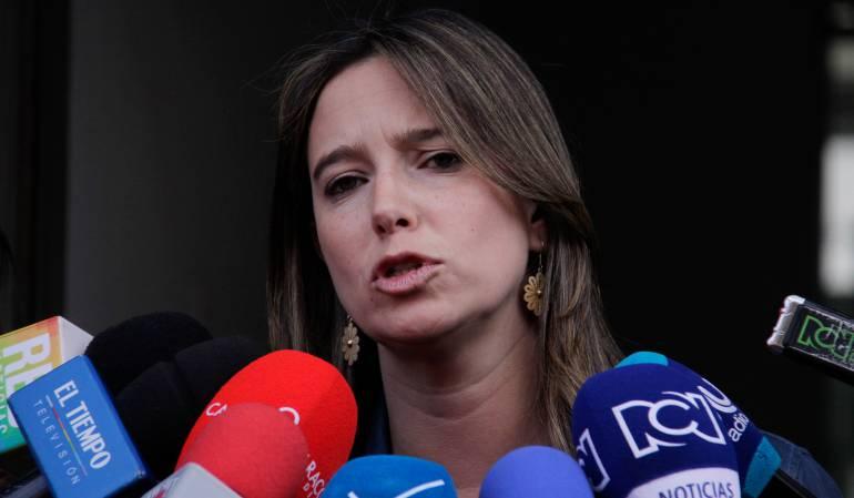 Directora del ICBF, Cristina Plazas.