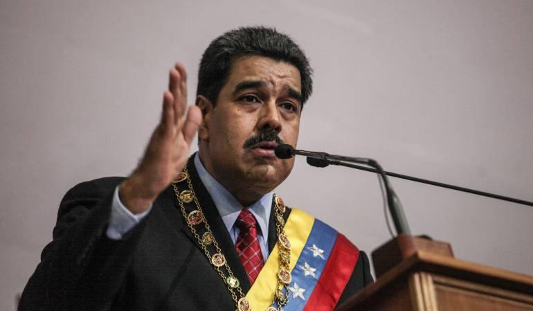 presidente Nicolás Maduro: Uribismo denunció al presidente Nicolás Maduro ante la Corte Penal Internacional