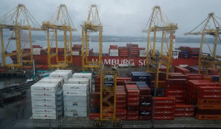 Colombia redujó su déficit comercial un 33,4% en marzo