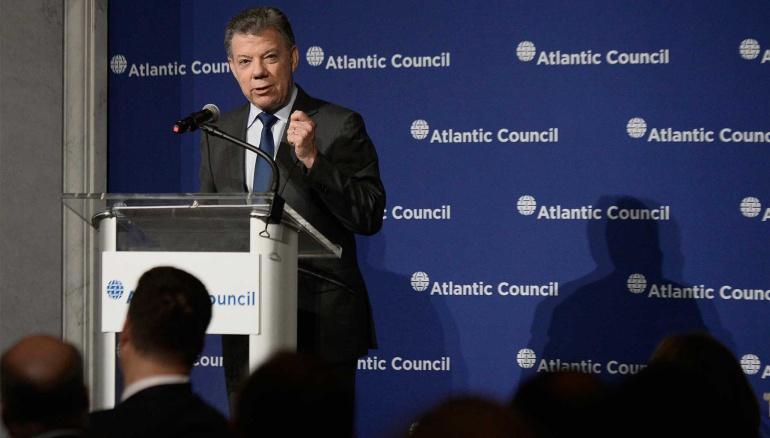 Encuentro Santos - Trump: Presidente Santos inicia visita clave en Washington