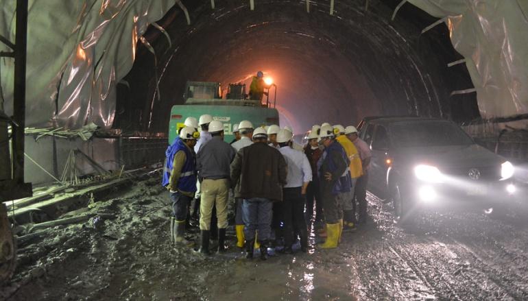Túnel La Línea: Cerrada de nuevo la vía La Línea por derrumbe