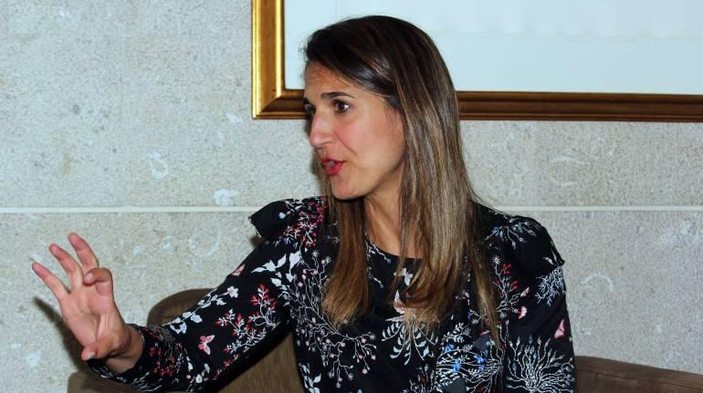 La ministra de Educación, Yaneth Giha.