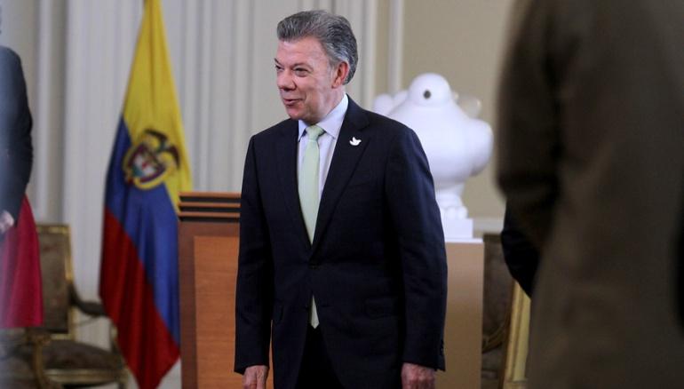 Encuentro Santos - Trump: Santos pide a EE.UU. ayudar a la correcta implementación del acuerdo de paz