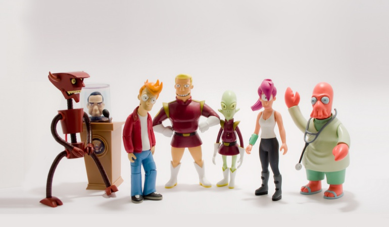 """""""Futurama"""" es otra de las creaciones de Matt Groening."""