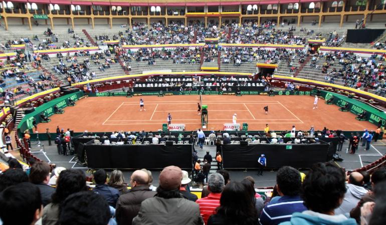 Tenis: Plaza de Toros de la Santamaría, sede del cruce entre Colombia y Croacia