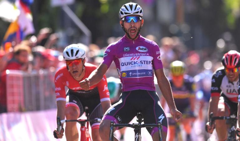 Fernando Gaviria: Así han sido los cuatro triunfos de Fernando Gaviria en el Giro de Italia
