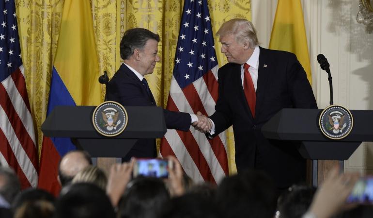 Encuentro Santos Trump: Donald Trump vendría a Colombia en noviembre