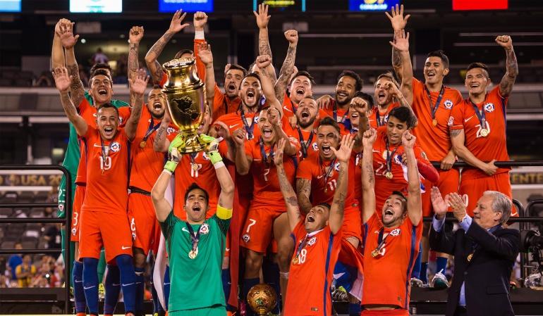 Copa confederaciones: Selección de Chile define sus convocados para la Copa Confederaciones
