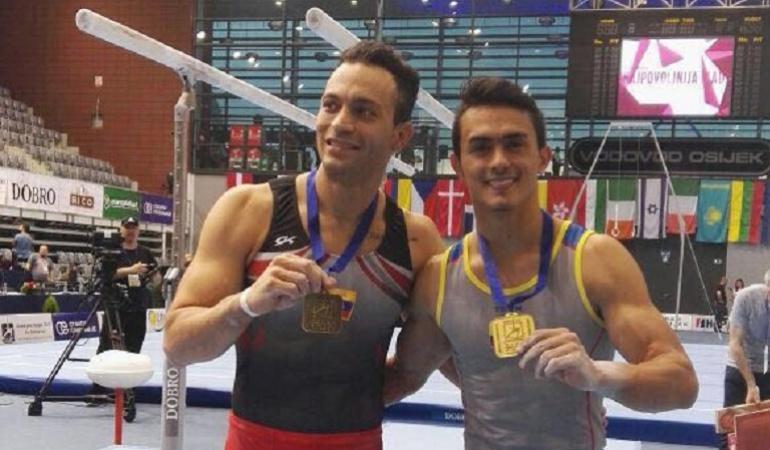 Jossimar Calvo, oro en Copa Mundo de Croacia