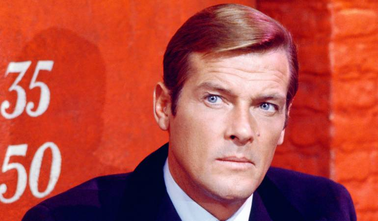 Muere Roger Moore, famoso James Bond y