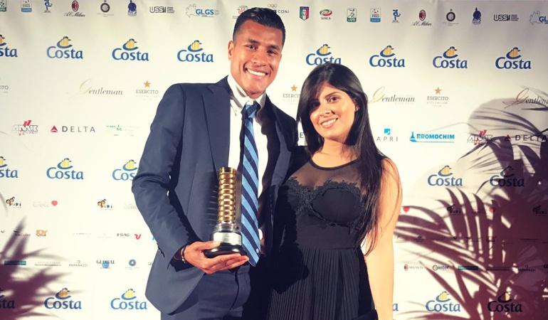 Premiago gol de Jeison Murillo en Italia: Gol de Jeison Murillo, elegido el mejor de la temporada en Italia