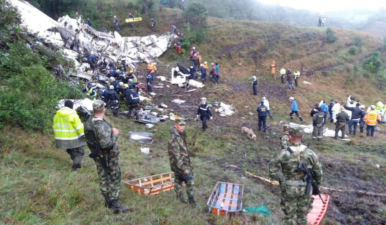Avión del Chapecoense viajó a Colombia con la póliza de seguro suspendida
