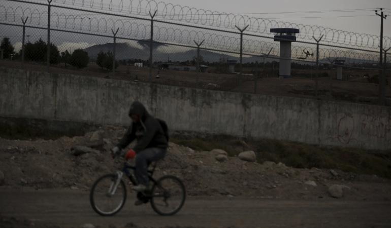 La prisión federal 'El Altiplano' en México.