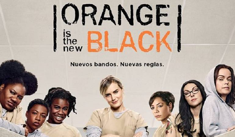 "'Orange is the new black' se deja contagiar del ritmo de ""Epa Colombia"": Reclusas de 'Orange is the new black' bailan a ritmo de ""Epa Colombia"""