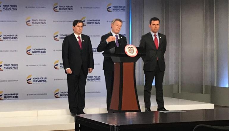 Presidente aceptó dimisión de Juan Fernando Cristo como ministro del Interior