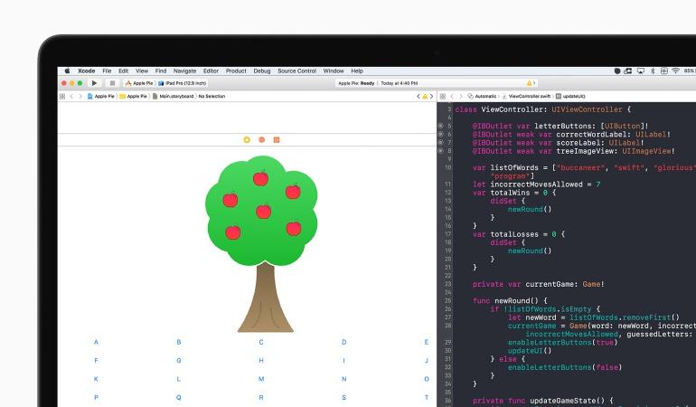 Apple planea que la gente aprenda a programar aplicaciones.