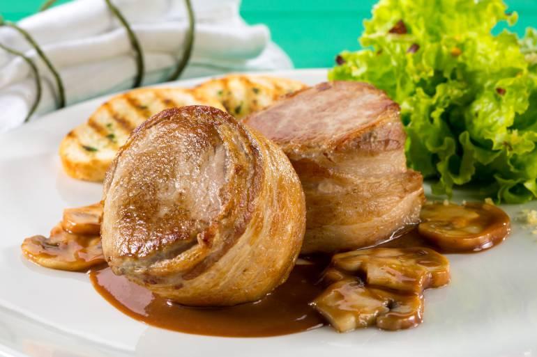 Filet mignon: un plato fácil de la alta cocina