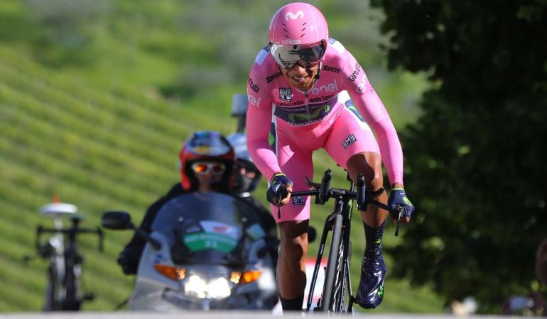 Nairo Quintana aspira defender ventaja y coronarse en Giro de Italia