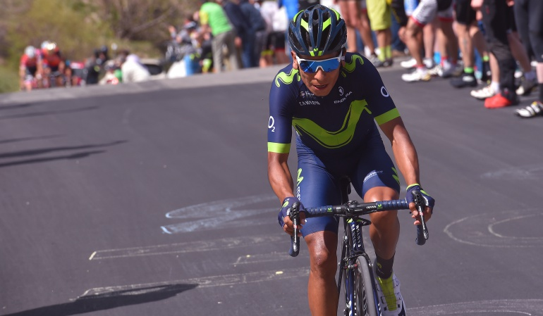 Giro de Italia Nairo Quintana: Un podio en el Giro no es para decepcionarse: Nairo Quintana