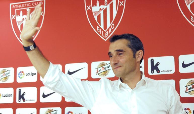 Ernesto Valverde, nuevo entrenador del Barcelona — Oficial