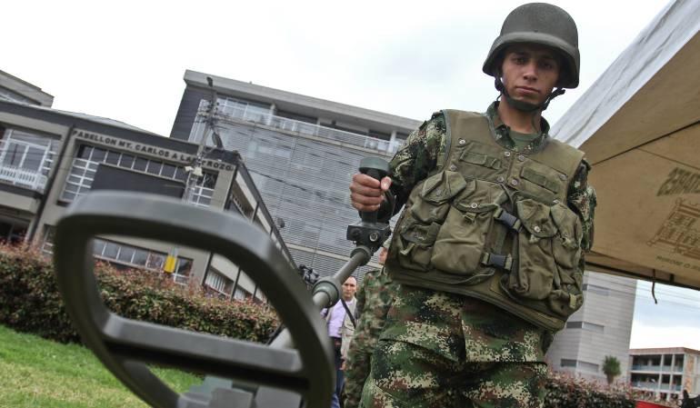 Minas antipersona en municipios: La meta es declarar más de 600 municipios libres de minas antipersona: Ejército
