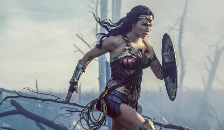 "Gal Gadot en una escena de ""Wonder Woman"""
