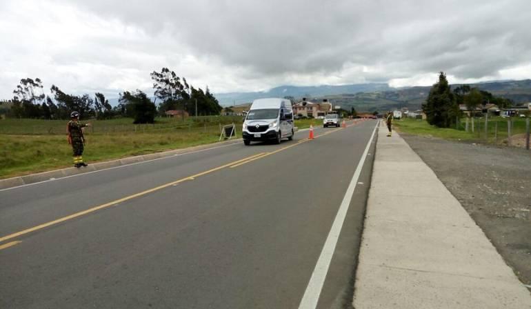 Avanza plan retorno durante este puente festivo — COLOMBIA