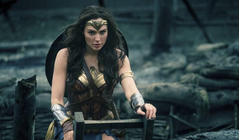 "Gal Gadot en una escena de ""Wonder Woman""."