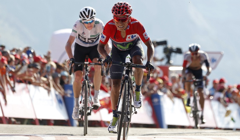 Froome rivales en el Tour: Froome no ve a Nairo como su rival en el Tour de Francia