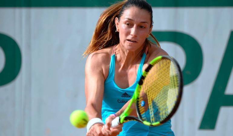 Mariana Duque avanzó a tercera ronda en Roland Garros