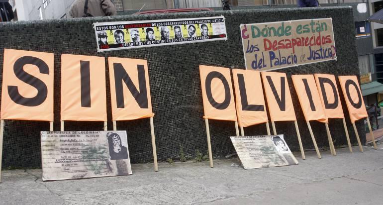 Medicina Legal identificó restos de otro desaparecido del Palacio de Justicia