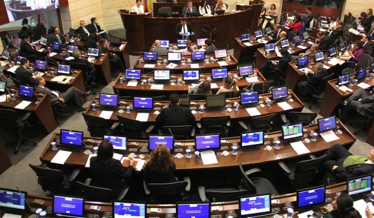 Polémica por Farc en el Congreso