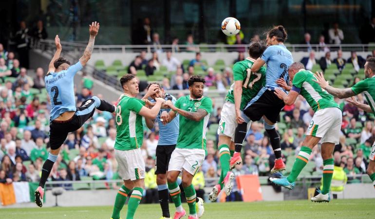 Irlanda Uruguay: Irlanda hace respetar su casa y se impone a Uruguay en partido amistoso