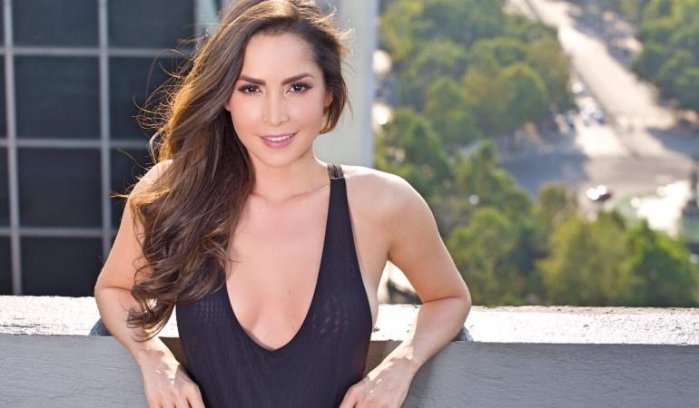 La actriz colombiana Carmen Villalobos.