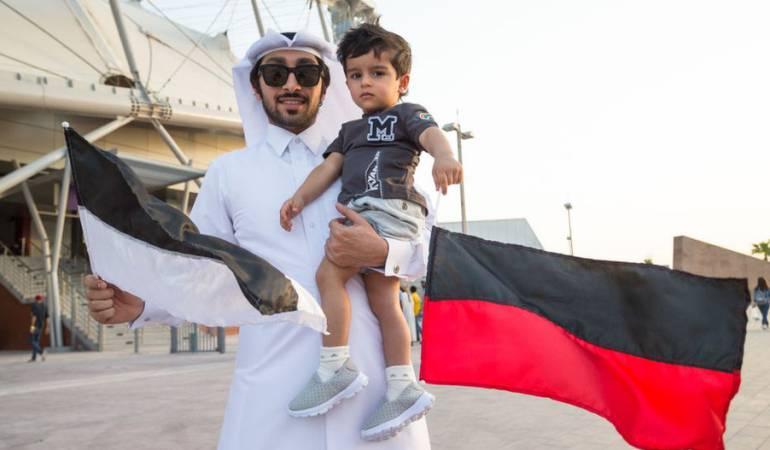 El estadio internacional Khalifa, en Doha, fue inaugurado el mes pasado después de ser sometido a una renovación de cara a la Copa Mundial de Fútbol 2022.