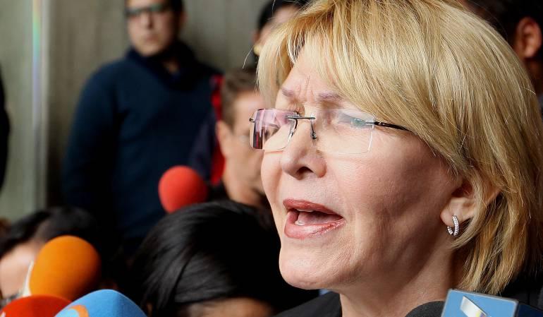 Crisis en Venezuela: Fiscal venezolana responsabiliza al Gobierno de la seguridad de su familia