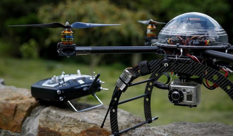 1.190 millones de pesos gastó Policía en drones que no funcionan
