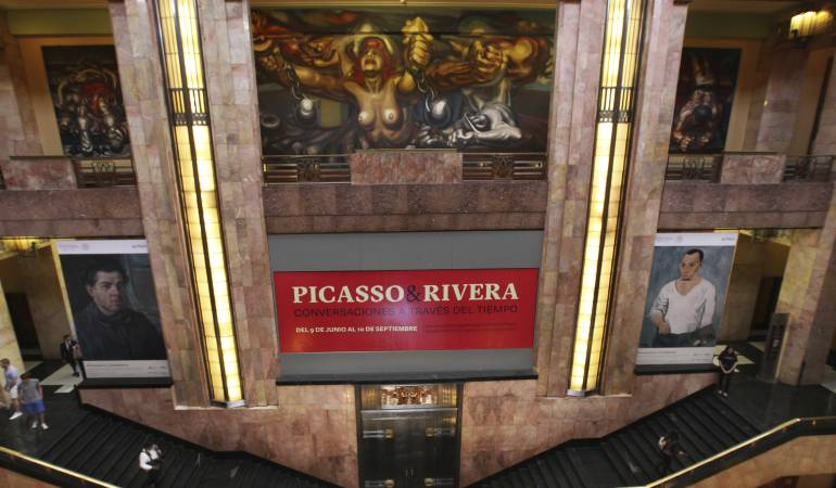 Picasso y Rivera. Conversaciones a través del tiempo: Picasso y Rivera se reencuentran en México