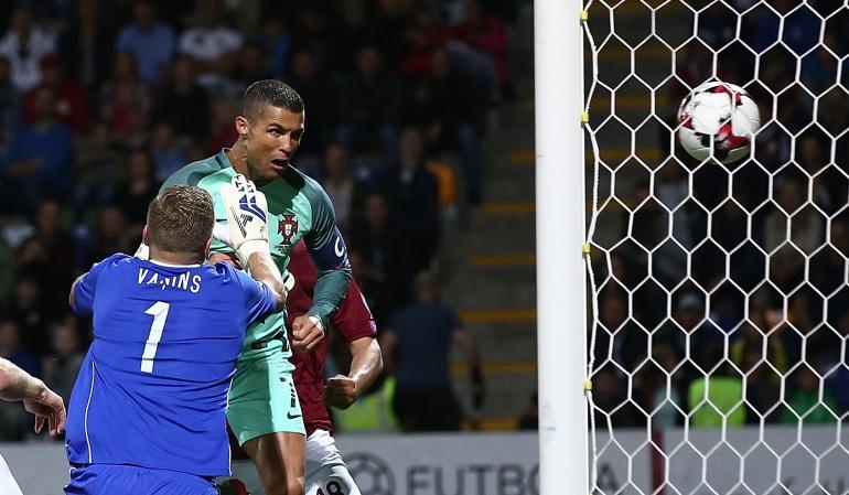 Eliminatorias: Con doblete de Cristiano Ronaldo, Portugal vence a Letonia