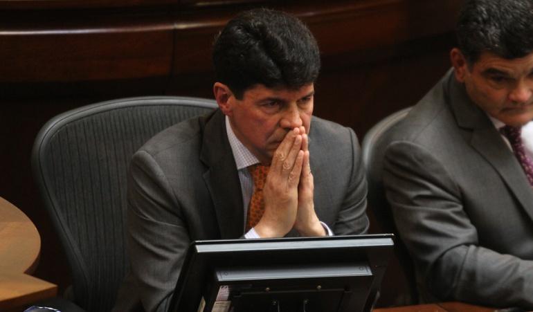 La Procuraduría suspendió al subsecretario del Senado Saúl Cruz