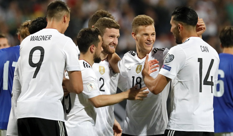 Alemania 7-0 San Marino: Una joven Alemania arrasa con San Marino y continúa su paso sólido a Rusia