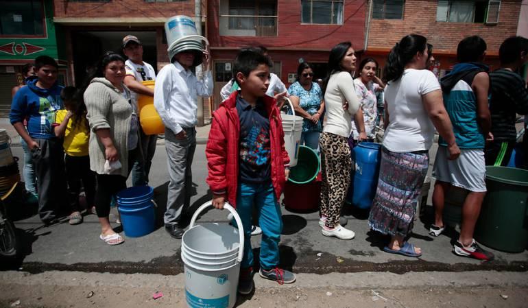 Sin agua en San José del Guaviare: Sin servicio de agua en San José del Guaviare