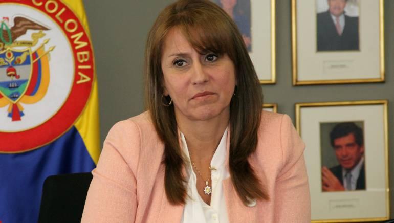 Ministra de Trabajo, Griselda Restrepo.